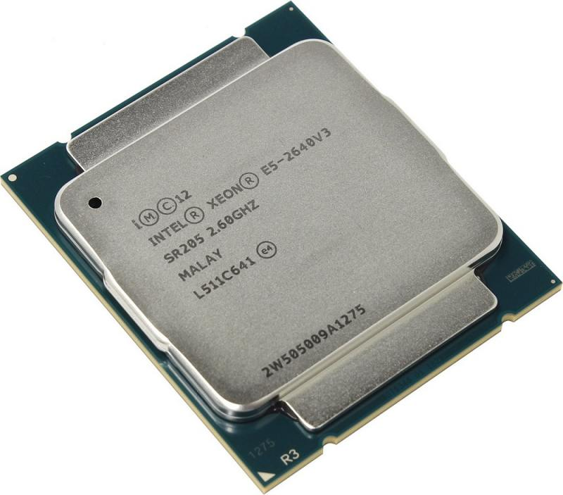 Процессор Lenovo Xeon E5-2640v3 2.6GHz 20Mb 8C 90W 00FK644