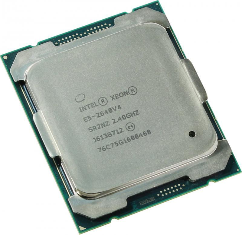 Процессор Dell Intel Xeon E5-2640v4 2.4GHz 25M 10C 90W 338-BJDLt процессор dell intel xeon e5 2630 v4 broadwell ep 2200mhz lga2011 3 l3 25600kb 338 bjdg box