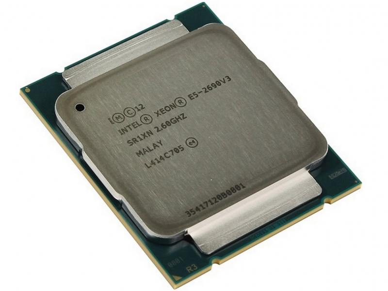 все цены на Процессор Dell Intel Xeon E5-2690v3 2.6GHz 30Mb 374-BBGS