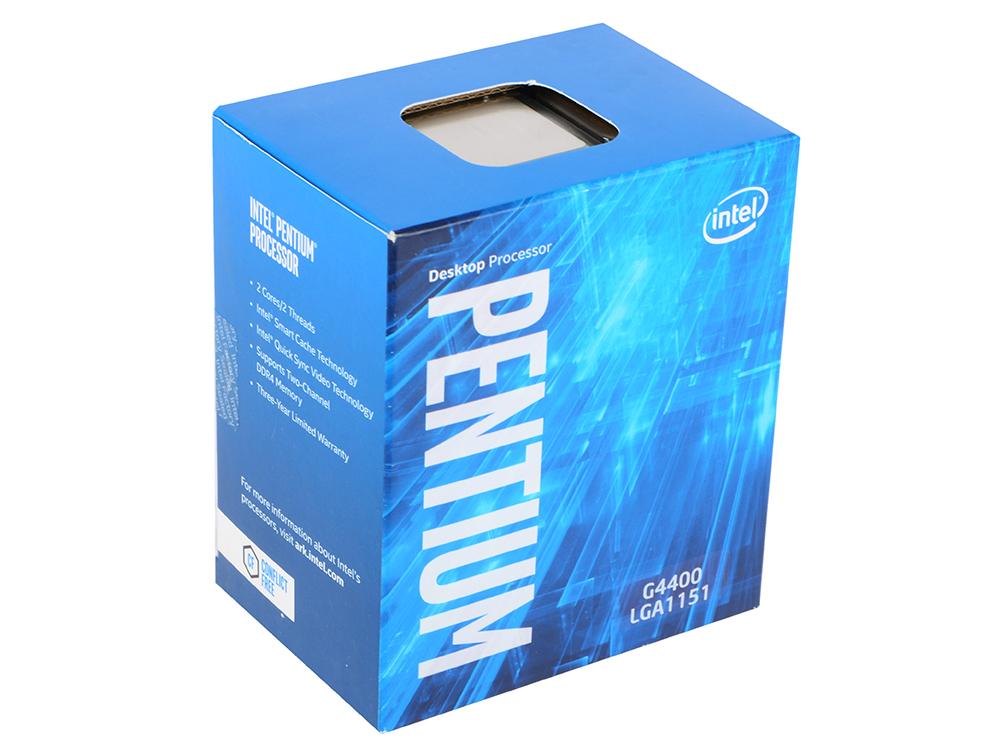 Процессор Intel Pentium G4400 3.3GHz 3Mb Socket 1151 BOX