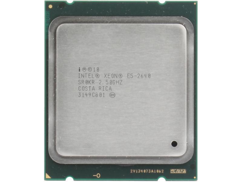 Процессор Intel Xeon E5-2640 2.5GHz 15Mb LGA2011 OEM