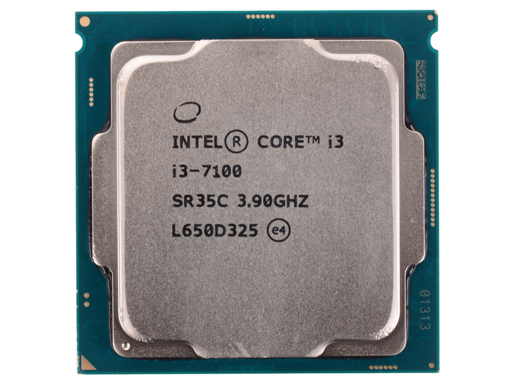Процессор Intel Core i3-7100 OEM TPD 51W, 2/4, Base 3.9GHz, 3Mb, LGA1151 (Kaby Lake) процессор intel core i7 8700 box tpd 65w 6 12 base 3 2ghz turbo 4 6 ghz 12mb lga1151 coffee lake