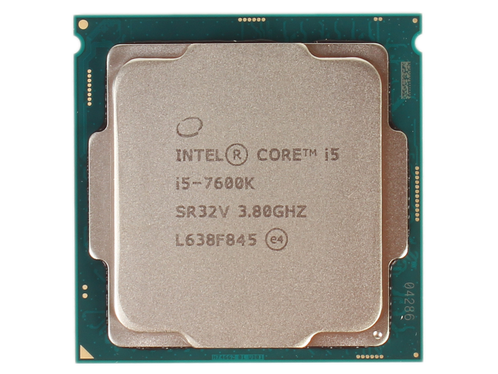 Процессор Intel Core i5-7600K OEM TPD 91W, 4/4, Base 3.80GHz - Turbo 4.20GHz, 6Mb, LGA1151 (Kaby Lake) процессор intel core i5 6400 2 7ghz 6mb lga1151 box bx80662i56400