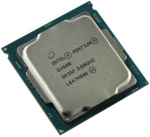 Процессор Intel Pentium G4600 BOX  TPD 51W, 2/4, Base 3.60GHz, 3Mb, LGA1151 (Kaby Lake)
