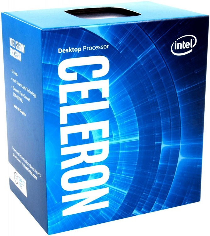 Процессор Intel Celeron G3930 2.9GHz 2Mb Socket 1151 BOX процессор intel celeron g1610