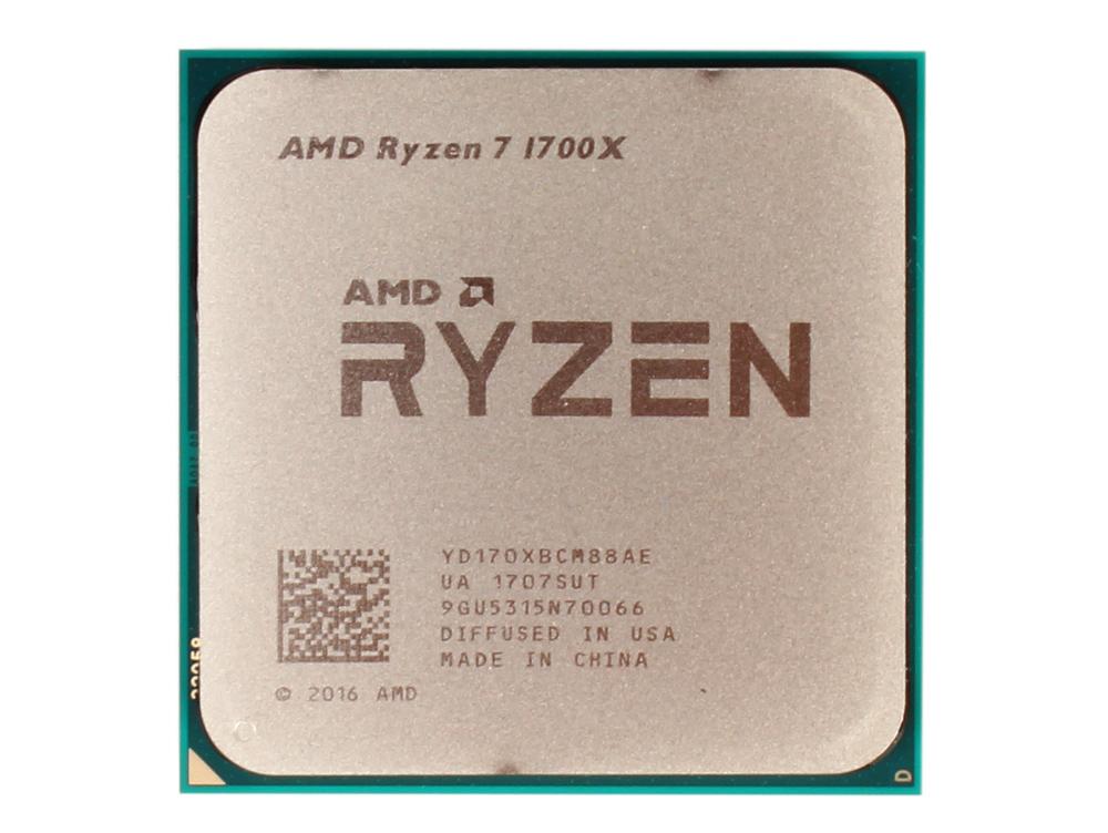 Процессор AMD Ryzen 7 OEM 95W, 8/16, 3.8Gh, 20MB, AM4 (YD170XBCM88AE) процессор amd ryzen 7 1800x wof 95w 8 16 4 0gh 20mb am4 yd180xbcaewof