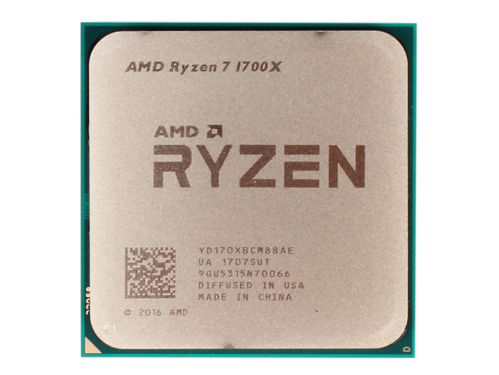 Процессор AMD Ryzen 7 OEM 95W, 8/16, 3.8Gh, 20MB, AM4 (YD170XBCM88AE) процессор amd ryzen 3 2200g yd2200c5m4mfb socket am4 oem