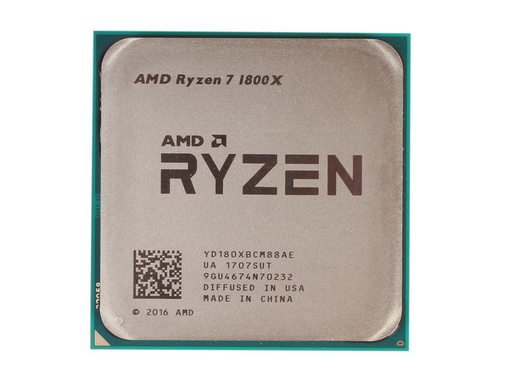 Процессор AMD Ryzen 7 OEM 95W, 8/16, 4.0Gh, 20MB, AM4 (YD180XBCM88AE) процессор amd ryzen 3 2200g yd2200c5m4mfb socket am4 oem