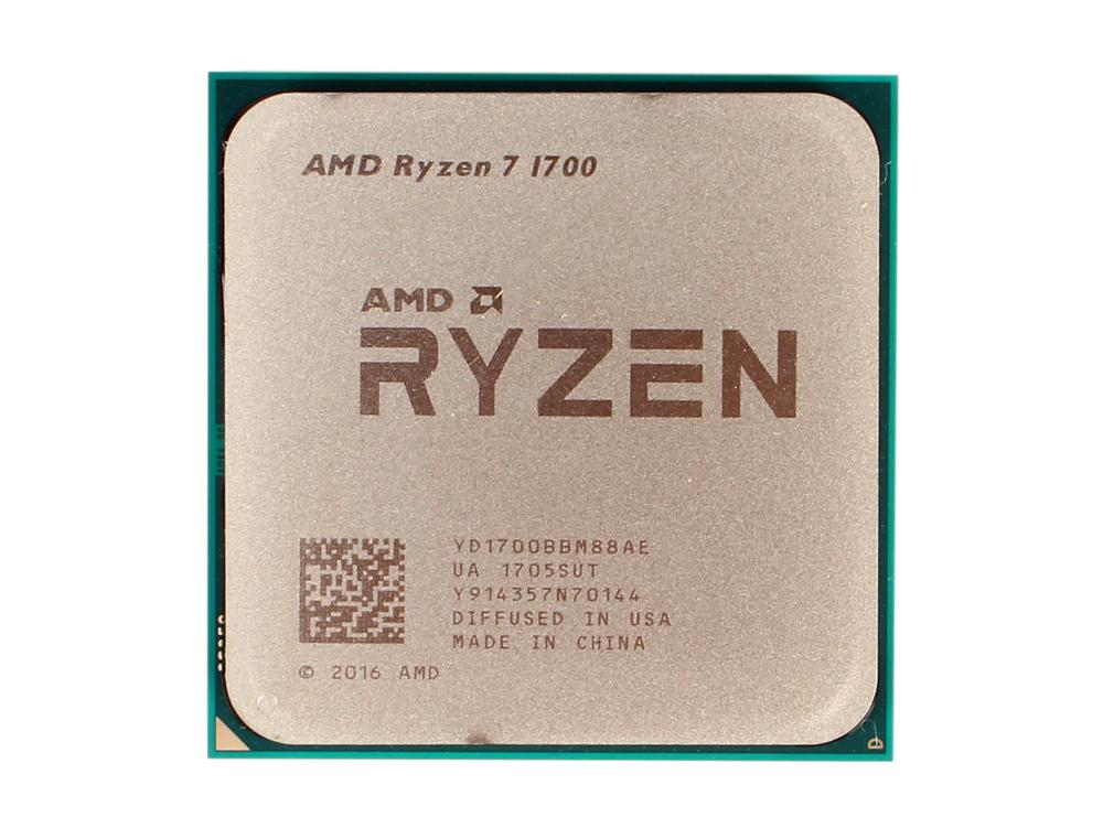 Процессор AMD Ryzen 7 OEM 65W, 8/16, 3.7Gh, 20MB, AM4 (YD1700BBM88AE) процессор amd ryzen 3 2200g yd2200c5m4mfb socket am4 oem