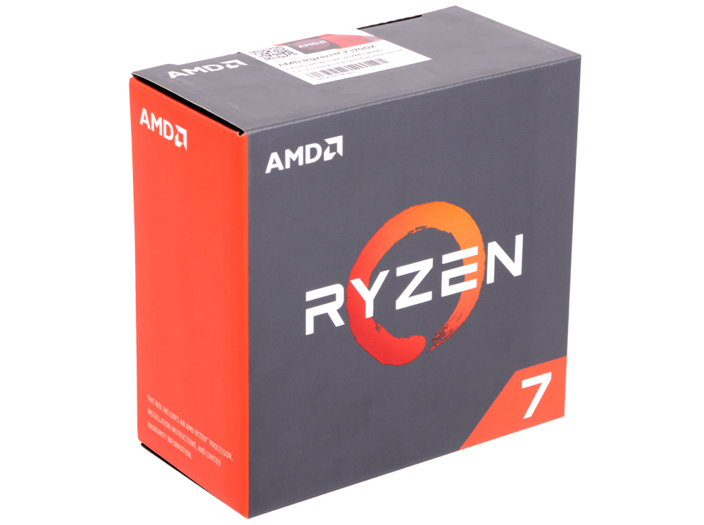 Процессор AMD Ryzen 7 1700X WOF 95W, 8/16, 3.8Gh, 20MB, AM4 (YD170XBCAEWOF) процессор amd ryzen 7 1700x yd170xbcaewof socket am4 box без кулера
