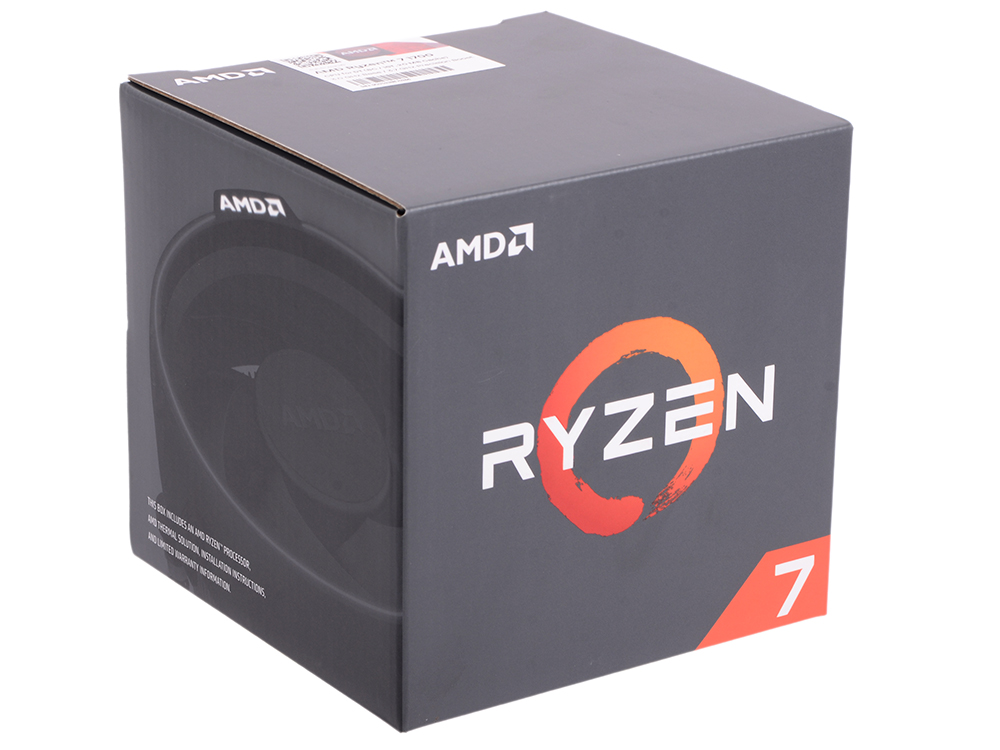 все цены на Процессор AMD Ryzen 7 BOX 65W, 8/16, 3.7Gh, 20MB, AM4 (YD1700BBAEBOX) онлайн
