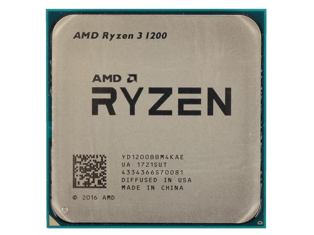 Процессор AMD Ryzen 3 1200 OEM 65W, 4C/4T, 3.4Gh(Max), 10MB(L2-2MB+L3-8MB), AM4 (YD1200BBM4KAE) процессор amd a8 7500 3 0ghz 2mb ad7500ybi44ja socket fm2 oem