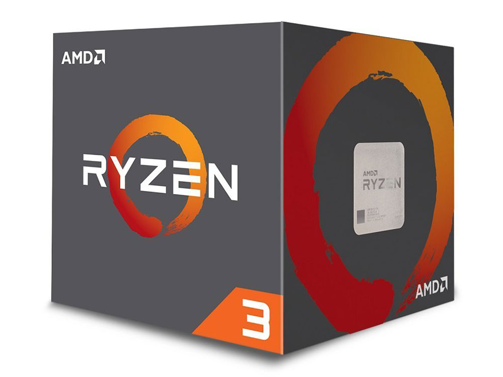 Процессор AMD Ryzen 3 1300X BOX 65W, 4C/4T, 3.7Gh(Max), 10MB(L2-2MB+L3-8MB), AM4 (YD130XBBAEBOX)