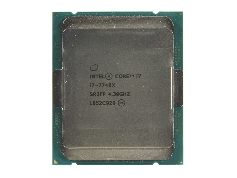 Процессор Intel Core i7-7740X OEM TPD 112W, 4/8, Base 4.3GHz - Turbo 4.5GHz, 8Mb, LGA2066 (Kaby Lake) 1pcs brand new socket lga2066 lga 2066 cpu base pc connector bga base