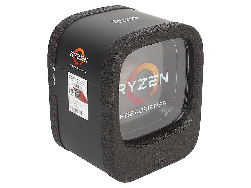 Процессор AMD Ryzen Threadripper 1920X WOF (BOX without cooler) 180W, 12C/24T, 4.0Gh(Max), 38MB(L2+L3), sTR4 (YD192XA8AEWOF) процессор amd ryzen 7 1700x oem yd170xbcm88ae