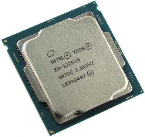 Процессор Intel Xeon E3-1225v6 3.3GHz 8Mb LGA1151 OEM процессор intel xeon e3 1220v3 3 1ghz 8mb lga1150 oem sr154