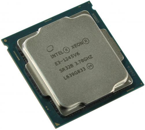 Процессор Intel Xeon E3-1245v6 3.7GHz 8Mb LGA1151 OEM процессор intel xeon e3 1220 v2