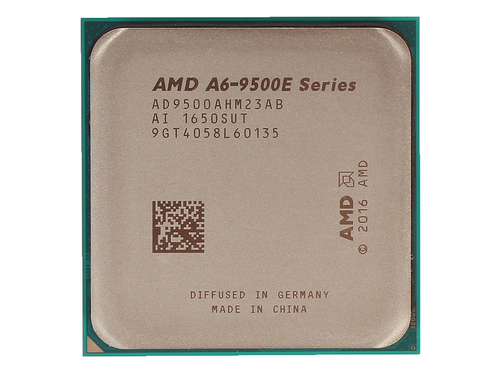 Процессор AMD A6 9500E OEM 35W, 2C/2T, 3.4Gh(Max), 1MB(L2-1MB), AM4 (AD9500AHM23AB) thermalright le grand macho rt computer coolers amd intel cpu heatsink radiatorlga 775 2011 1366 am3 am4 fm2 fm1 coolers fan