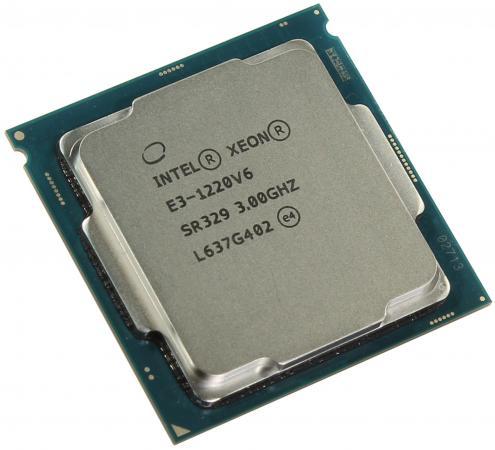 Процессор Intel Xeon E3-1220v6 3.0GHz 8Mb LGA1151 OEM процессор intel xeon e3 1230v6 3 5ghz 8mb lga1151 oem