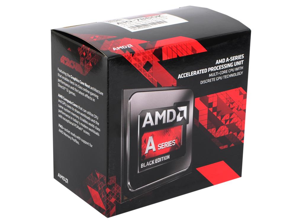 Процессор AMD A10 7860K BOX 65W, 4core, 4.0Gh(Max), 4MB(L2-4MB), Godavari, QC, FM2+ (AD786KYBJCSBX) процессор amd a8 7670 k box ad767kxbjcbox
