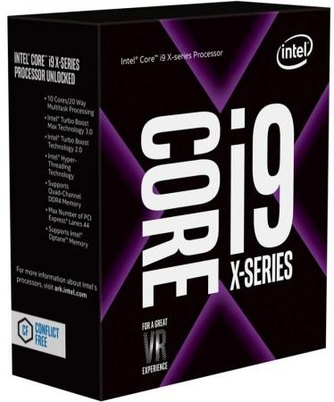 Процессор Intel Core i9-7940X 3.1GHz 19Mb Socket 2066 BOX cpu intel core i9 7920x computer