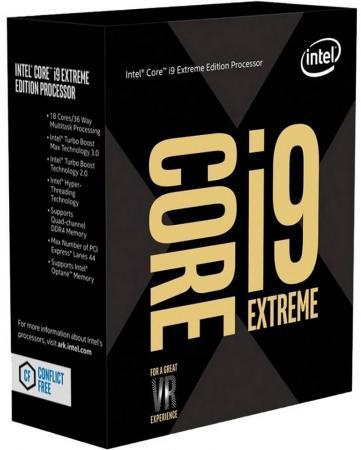 Процессор Intel Core i9-7980XE 2.6GHz 24Mb Socket 2066 Box процессор intel original core i9 7900x soc 2066 bx80673i97900x s r3l2 3 3ghz box w o cooler