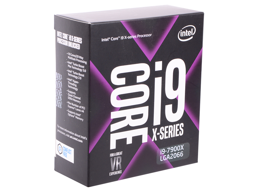 Процессор Intel Core i9-7900X 3.3GHz 10Mb Socket 2066 Box cpu intel core i9 7920x computer