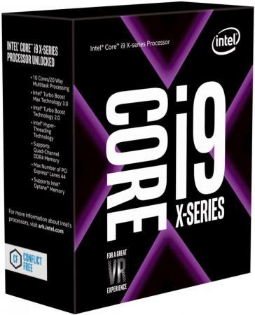 Процессор Intel Core i9-7900X 3.3GHz 10Mb Socket 2066 Box процессор intel original core i9 7900x soc 2066 bx80673i97900x s r3l2 3 3ghz box w o cooler