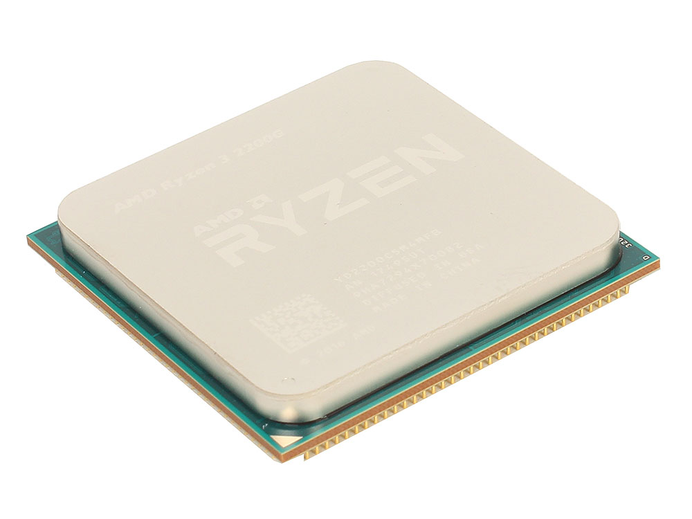 Процессор AMD Ryzen 3 2200G BOX (65W, 4C/4T, 3.7Gh(Max), 6MB(L2+L3), AM4) RX Vega Graphics (YD2200C5FBBOX)