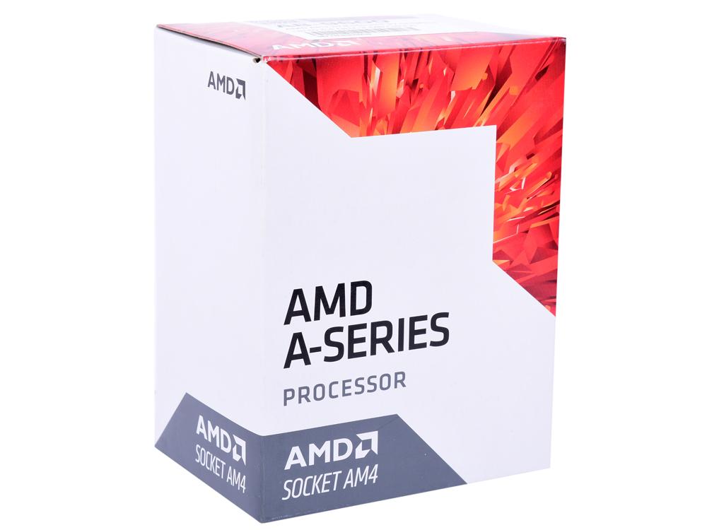 Процессор AMD A8 9600 BOX 65W, 4C/4T, 3.4Gh(Max), 2MB(L2-2MB), AM4 (AD9600AGABBOX)