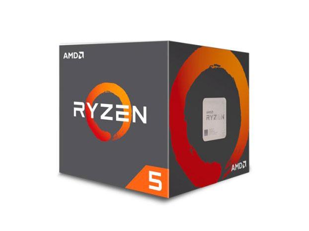 Процессор AMD Ryzen 5 2600 BOX (65W, 6C/16T, 3.9Gh(Max), 19MB(L2+L3), AM4) (YD2600BBAFBOX) процессор amd ryzen 7 1700x oem yd170xbcm88ae