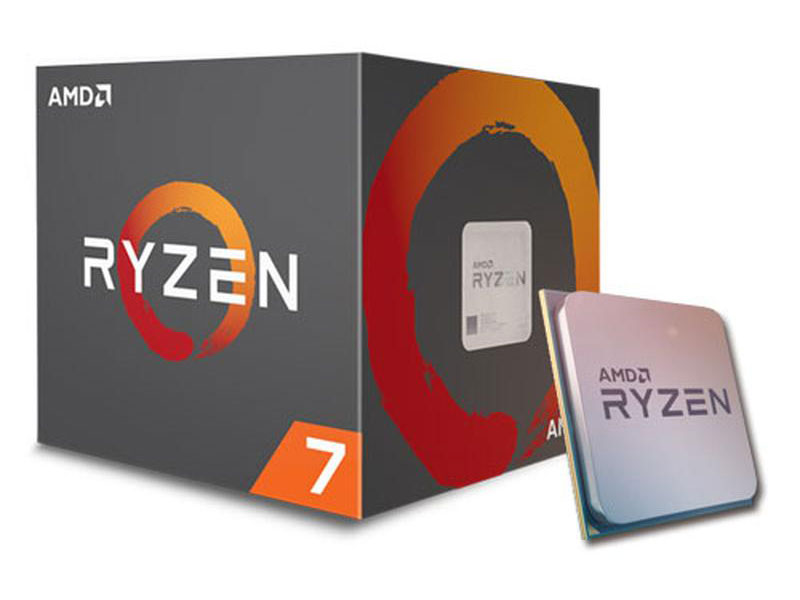 Процессор AMD Ryzen 7 2700 BOX (65W, 8C/16T, 4.1Gh(Max), 20MB(L2+L3), AM4) (YD2700BBAFBOX) процессор amd fx 8370 vishera 4000mhz am3 l3 8192kb fd8370frw8khk tray