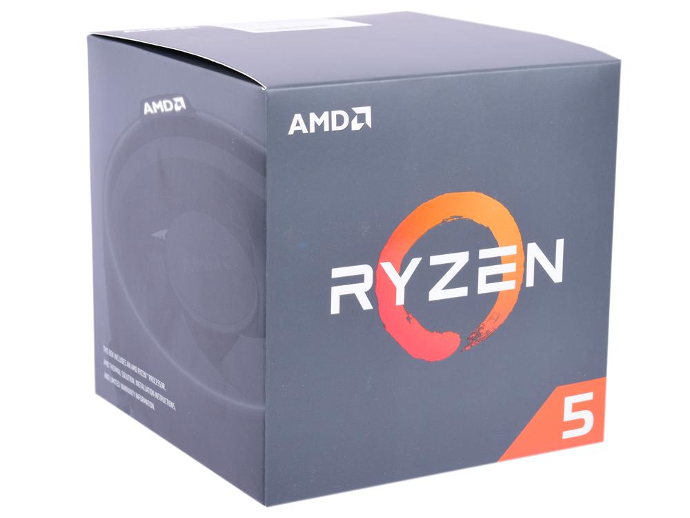 Процессор AMD Ryzen 5 2600X BOX (95W, 6C/12T, 4.25Gh(Max), 19MB(L2+L3), AM4) (YD260XBCAFBOX) цена и фото