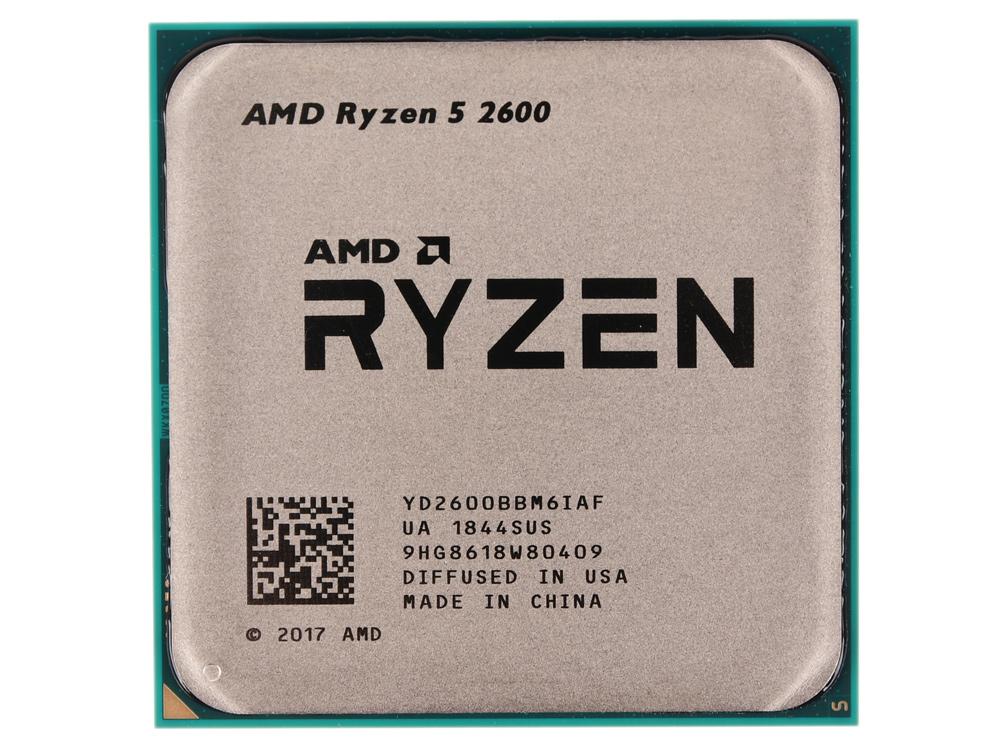Процессор AMD Ryzen 5 2600 OEM (65W, 6C/12T, 3.9Gh(Max), 19MB(L2+L3), AM4) (YD2600BBM6IAF) цена и фото
