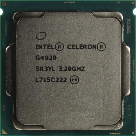 Процессор Intel Celeron G4920 3.2GHz 2Mb Socket 1151 OEM asus z170 pro soc 1151 intel