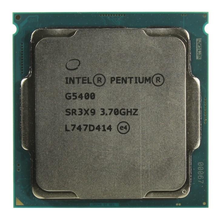 Процессор Intel Pentium Gold G5400 BOX TPD 54W, 2/4, Base 3.7GHz, 4Mb, LGA1151 (Coffee Lake) процессор intel pentium g5400 box
