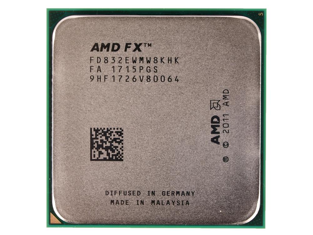 Процессор AMD FX-8320E OEM 95W, 8core, 4.0Gh(Max), 16MB(L2-8MB+L3-8MB), AM3+ (FD832EWMW8KHK) процессор amd fx 9370 vishera am3 l3 8192kb box