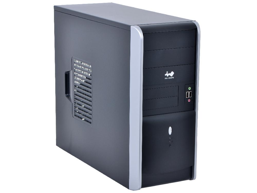 Корпус InWin EAR007 Black-Silver ATX 450W USB/Audio