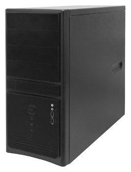 Корпус InWin EC021 Black ATX 450W USB/Audio компьютерный корпус inwin in win ec027 450w black черный