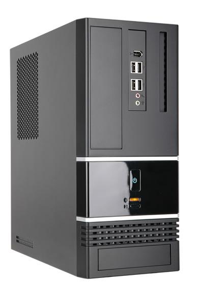 Корпус InWin BK623 Black mATX 300W USB/Audio корпус in win bk623 300w black