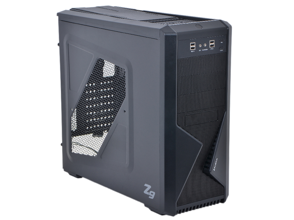 Корпус Zalman Z9 Black w/o PSU корпус zalman x7 black w o psu