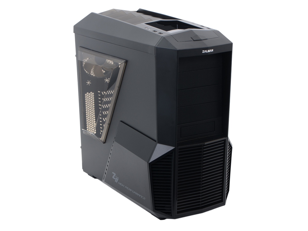 Корпус Zalman Z11 Plus Black w/o PSU корпус zalman x7 black w o psu