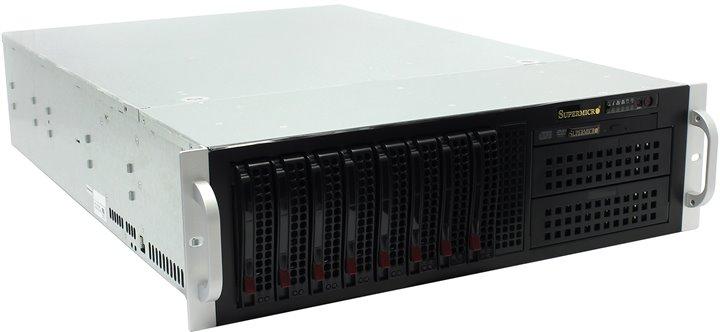 все цены на Корпус Supermicro CSE-835TQ-R800B 3U Black 8xHotSwap SAS / SATA, E-ATX 800W HS  RM