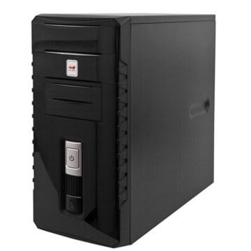 Корпус InWin ENR030 Black mATX 400W USB/Audio