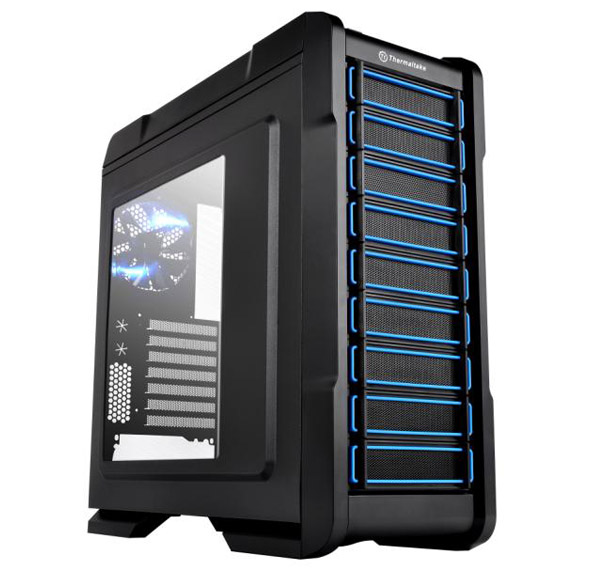 Корпус Thermaltake Chaser A31 Black w/o PSU, Window, VP300A1W2N корпус exegate mi 207 w o psu black