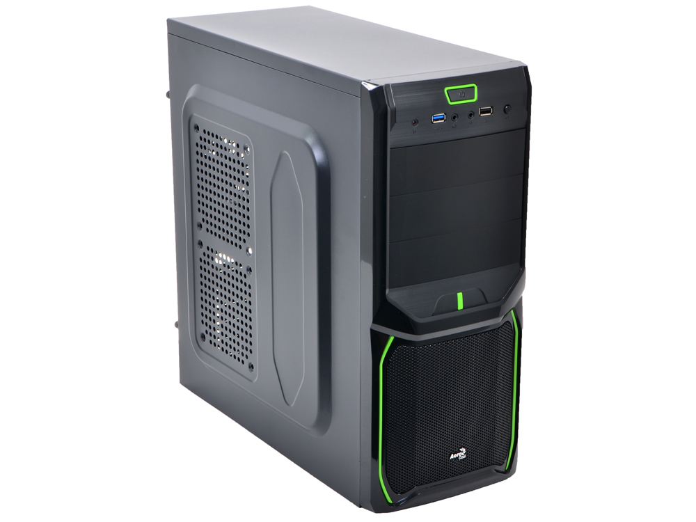 V3X Advance Evil Green Edition корпус aerocool v3x advance black edition 600w