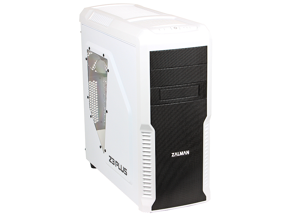 Корпус Zalman Z3 Plus White w\o PSU корпус zalman z11 plus black w o psu