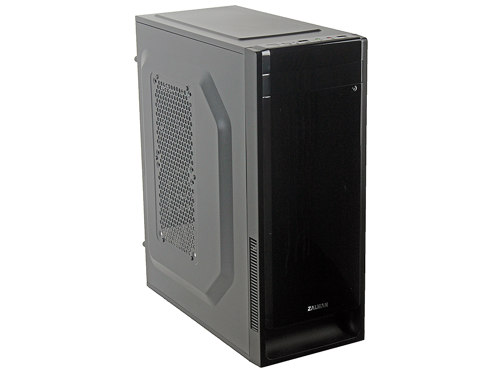 Корпус Zalman ZM-T2 Plus Black w/o PSU корпус zalman mini tower zm t5 black