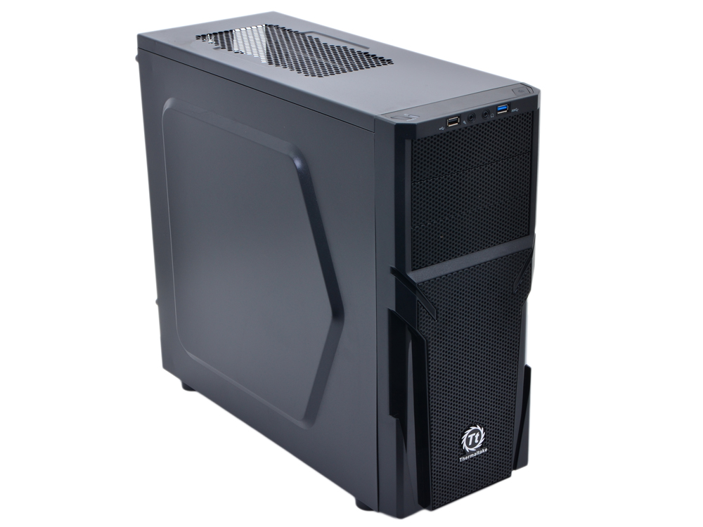 Корпус Thermaltake Versa H21 Black w/o PSU,CA-1B2-00-M1NN-00 корпус thermaltake core x2 black w o psu window ca 1d7 00c1wn 00 page 7 page 7