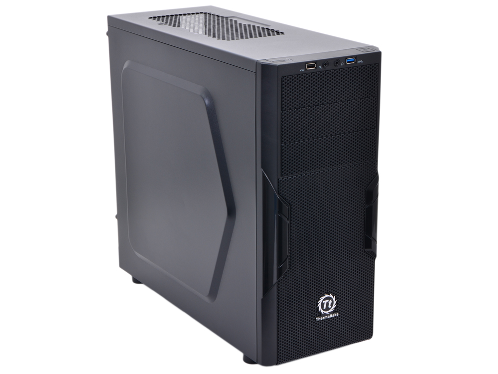 Корпус Thermaltake Versa H22 Black w/o PSU,CA-1B3-00-M1NN-00 корпус thermaltake core x2 black w o psu window ca 1d7 00c1wn 00 page 7 page 7